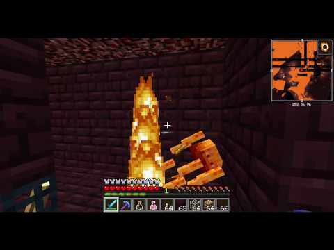 How to make an easy blaze farm in Minecraft
