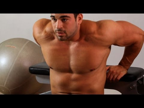How to Do a Bench Dip   Arm Workout