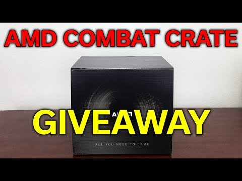 GIVEAWAY - AMD Combat Crate - Ryzen 5 1600 + B350 + RX 580 8GB