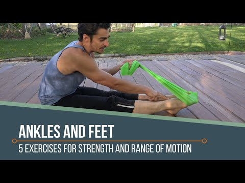 4 Exercises for Ankle and Foot Health
