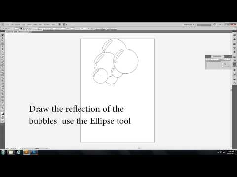 How to create Bubbles in Adobe illustrator