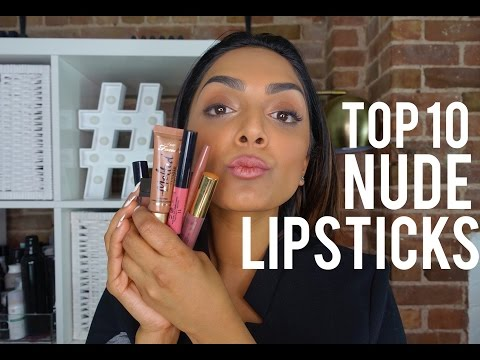 My Top 10 Favorite Nude Lipsticks for Indian, Brown, or Tan Skin Tones