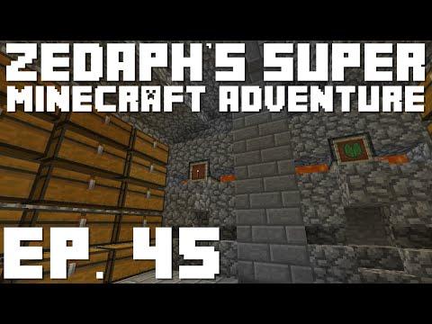 Zedaph's Super Minecraft Adventure: E45 - Rock Gods