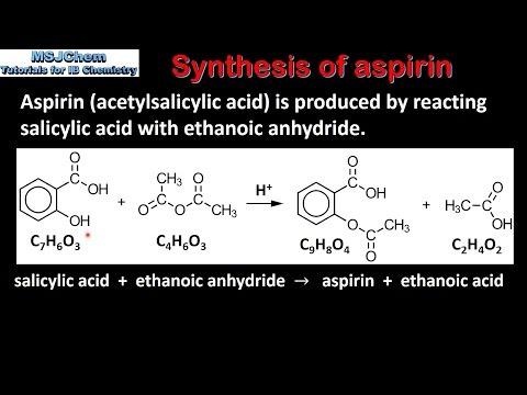 D.2 Synthesis of aspirin (SL)
