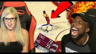 HE GOT 99 WESTBROOK! FULL COURT BUZZER SHOT! MOST RIGGED GLITCHED GAME EVER! NBA 2k17