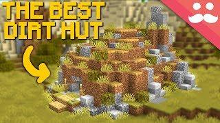 I made the Best Dirt Hut in Minecraft 1.14