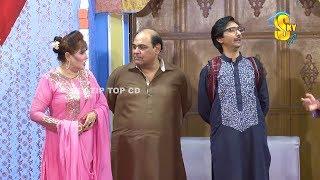 Agha Majid and Saleem Albela Stage Drama Haseena Wifi Nida Choudhary Full Comedy Clip 2019