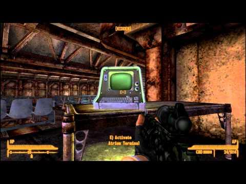 Fallout New Vegas Still in the Dark part 7 of 8 Vault 11 Atrium