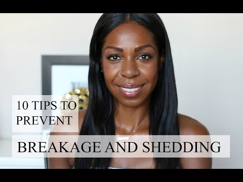 10 Tips To Prevent Hair Breakage And Shedding | Dominique of Style Domination