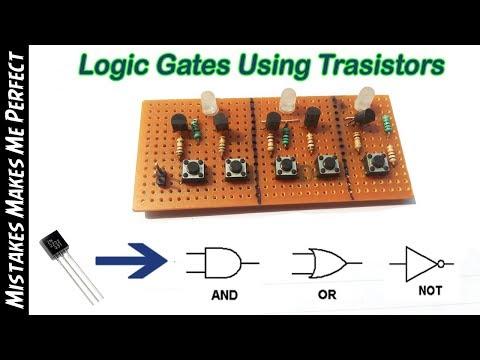 Logic Gates using Transistors