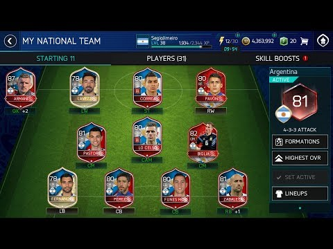 How to get 80+ overall team on FIFA World Cup mode free and easily | FIFA MOBILE 18