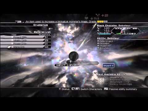 Final Fantasy XIII-2 [HD] - Black Chocobo Capturing Spot