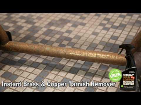Spray, Rinse, Done! Brass & Copper Tarnish Gone!