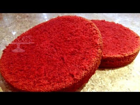 Red Velvet Cake - Recipe
