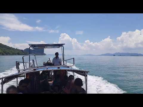 Thai sea longtail boat