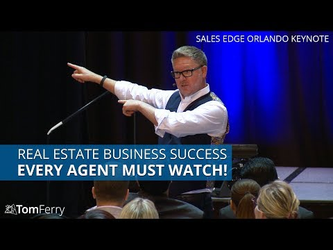 Building a Successful Real Estate Business and Q&A    Tom Ferry   Sales Edge Toronto 2017 Keynote