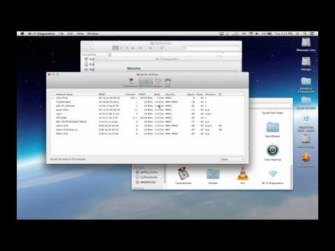 In Depth: Mac OS X Wi-Fi Diagnostics