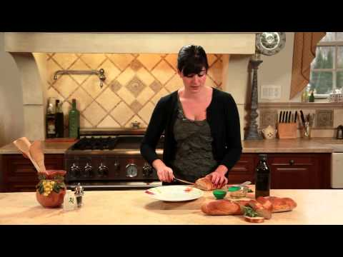 Olive Oil, Garlic & Oregano on a Baguette : Perfect Dinners & Kitchen Tips