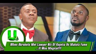 When Akrobeto Met Lawyer Nti Of Kejetia Vs Makola Fame...It Was Magical!!!