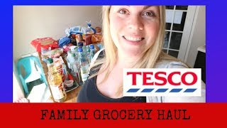 FAMILY GROCERY HAUL - £60 FOR THE WEEK - MAY 2019
