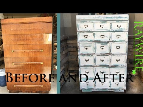 How To | Apothecary Cabinet Look Alike