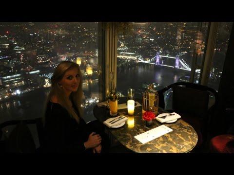 View From The Shard London - GONG Bar at Shangri-La Hotel London