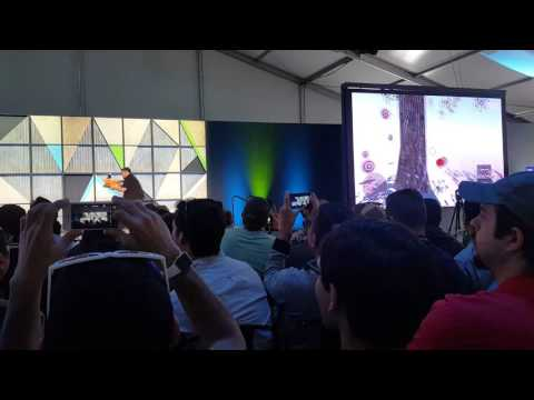 Google I/O 2016 : What's New with Project Tango - Target Shooter