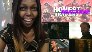 Download Reaction to Honest Trailers MCU (Highlights.) Video