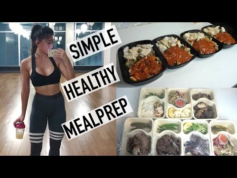 MEALPREP WITH ME | Healthy, Easy & Simple