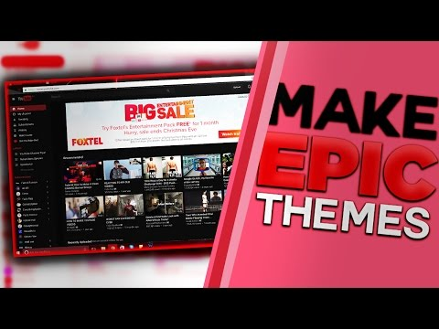 How To Customize ANY Website Theme Page On Your PC! Customize YouTube, Twitter & More!