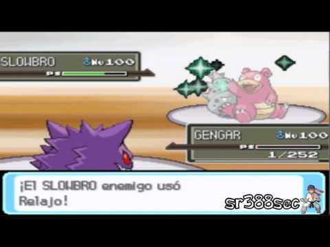 Pokemon Soul silver WI-FI Battle #20- sr388sec vs crow THE SLOWBRO