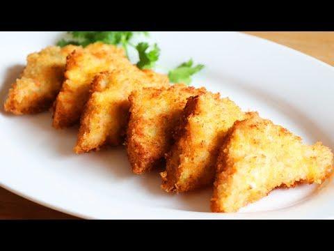 CRISPY Chinese Shrimp Toast 蝦多士 CiCi Li