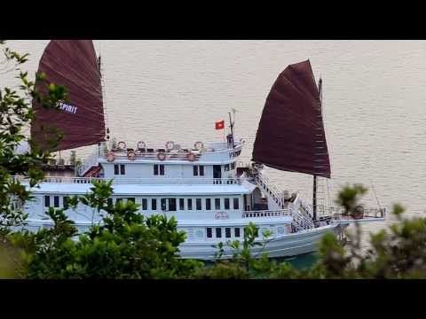 Halong Bay V'Spirit Cruises Official Video 2014