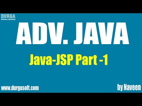 Adv Java-JSP-Part 1