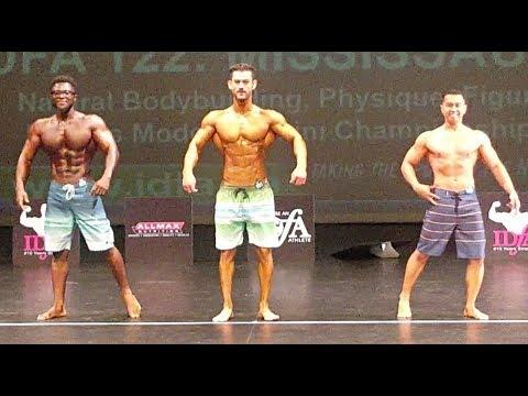 Men's Physique Competition 2018