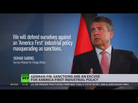 'Russia sanctions are excuse for 'America 1st' industrial policy' - German FM