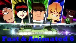 Fast & Animated 6 (Fast & Furious 6) Trailer