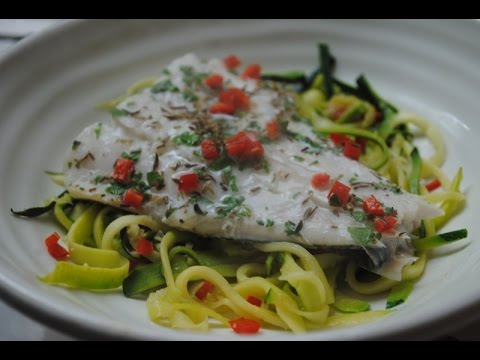 HEALTHY HADDOCK AND COURGETTI - Student Recipe