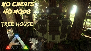 How To: Tree Platform House (No Mods/Commands)   Guide | ARK
