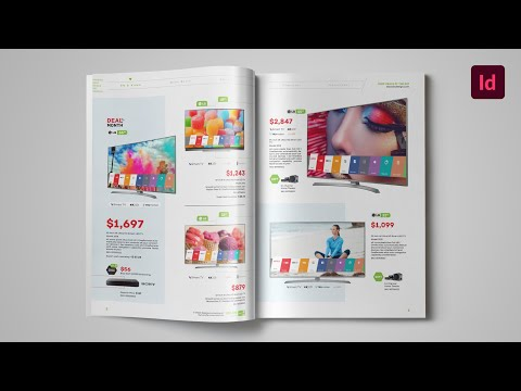 InDesign Template - Catalog Products