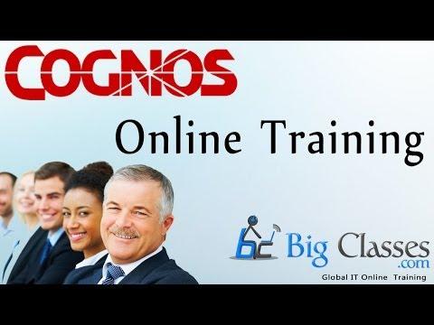 Cognos Online Training - Cognos tutorial for Beginners - Bigclasses