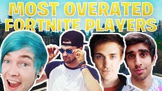 5 Most Overrated Fortnite Players On Youtube (dantdm/ninja/vikkstar123)