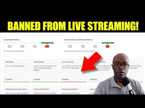 YouTube Banned Me From Live Streaming Due To State of the Union Address C-SPAN Video Blocked By CNN!