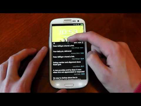 Samsung Galaxy S3 - Android 4.1.2 - UPDATE (Premium Suite)  -Review- HD