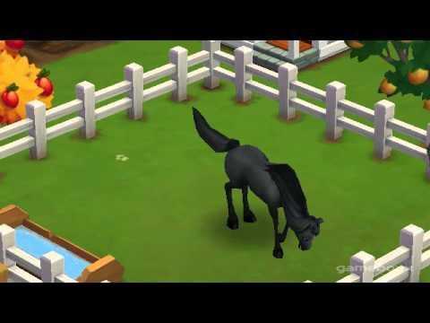 Black Arabian Horse - FarmVille 2