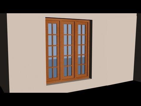AUTOCAD 3D HOUSE PART3 - MAKE A 3D WINDOW