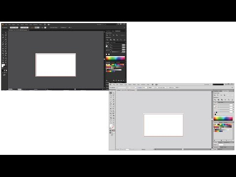 How to change illustrator interface color