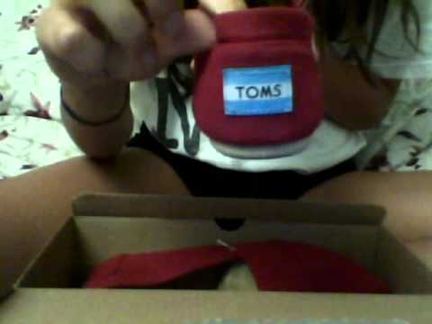 Red Toms Unboxing!