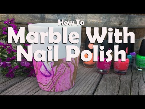 How To Marble With Nail Polish