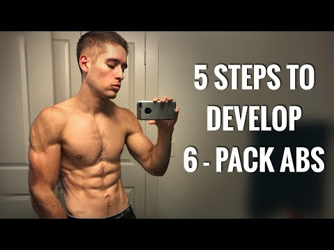 5 STEPS TO DEVELOP 6   PACK ABS